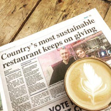 sustainable restaurant brighton beach cafe
