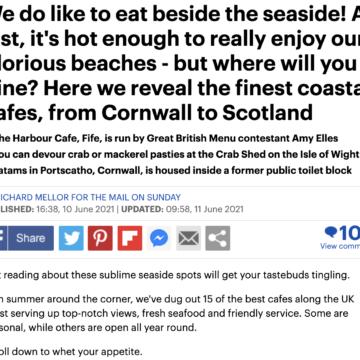 best beach cafe UK brighton