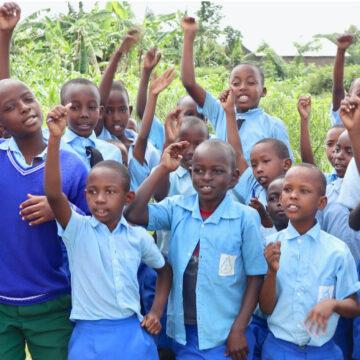 lucky beach cafe school rwanda